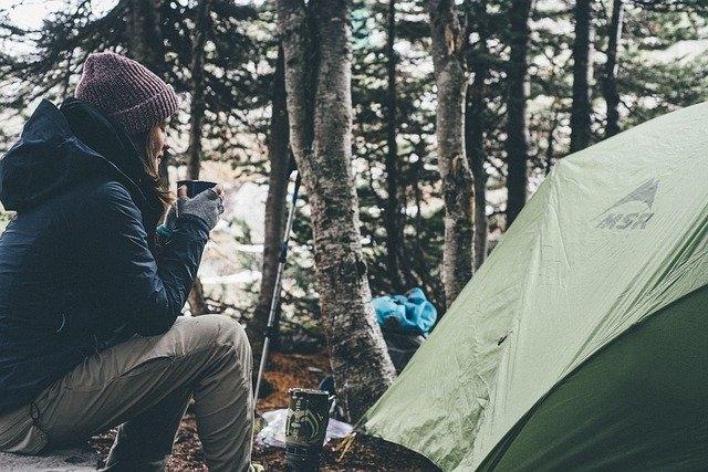 plinski žar za kampiranje